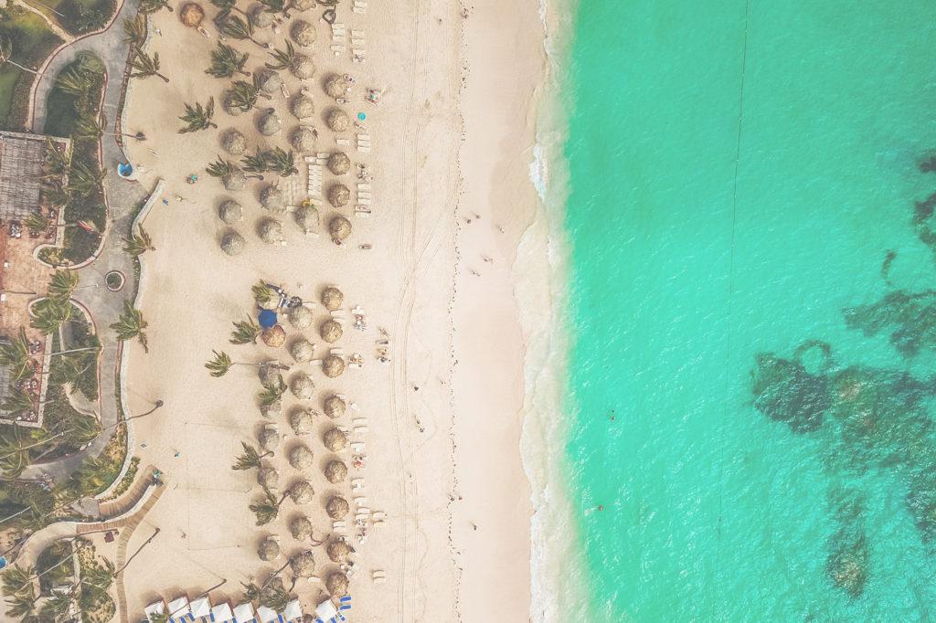 Drohne in der Dominikanischen Republik