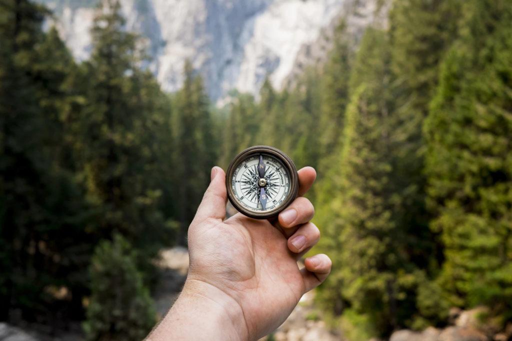 Kompass kalibrieren